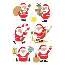 HERMA Weihnachts-Sticker DECOR Freund Nikolaus