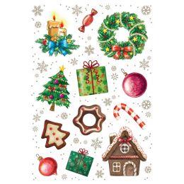 HERMA Weihnachts-Sticker DECOR Weihnachtszeit