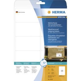 HERMA Wetterfeste Versand-Etiketten SPECIAL, 99,1 x 67,7 mm