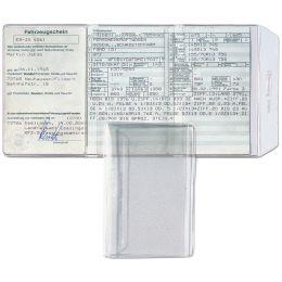 HETZEL Ausweishülle, PVC, 3-fach, 0,17 mm, Format: DIN A7