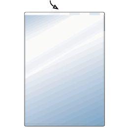 HETZEL Ausweishülle, PVC, 1-fach, 0,17 mm, Format: DIN A7