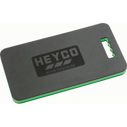 HEYCO Kniebrett, schwarz / grün, (B)480 mm