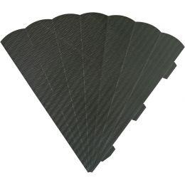 HEYDA Schultüten-Zuschnitt, 6-eckig, 69 cm, schwarz
