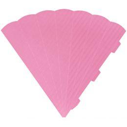 HEYDA Schultüten-Zuschnitt, 6-eckig, 69 cm, rosa