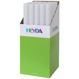 HEYDA Transparentpapier, (B)500 x (L)700 mm, weiß, Köcher