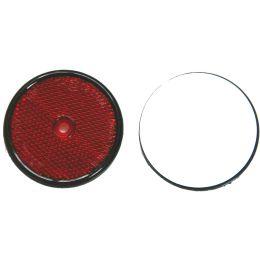 IWH Anhänger-Reflektor, rund, Durchmesser: 60 mm, rot