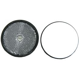 IWH Anhänger-Reflektor, rund, Durchmesser: 60 mm, weiß