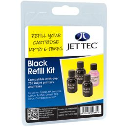 JET TEC Universal Refill Kit, schwarz