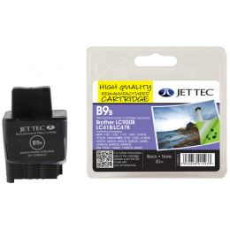 JET TEC wiederbefüllte Tinte B11C ersetzt brother LC-1100C