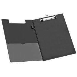 JPC Klemmbrett-Mappe, DIN A4, PVC-Folie, schwarz