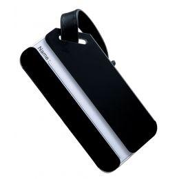 JSA Gepäckanhänger, aus Aluminium, schwarz