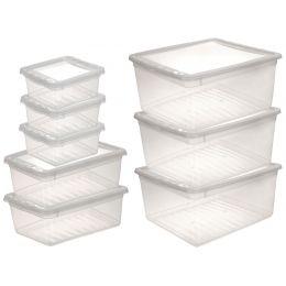 keeeper Aufbewahrungsboxen-Set bea, 8-teilig, PP