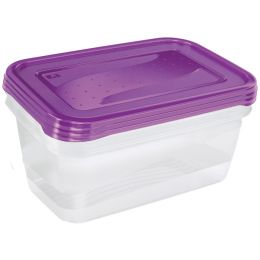 keeeper Frischhaltedose fredo fresh, 0,75 Liter, 4er Set