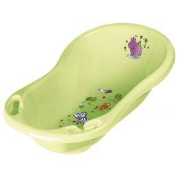 keeeper kids Babywanne maria hippo, mit Stöpsel, grün