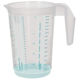 keeeper Messkanne massimo, 1,5 L, aquamarine-transparent