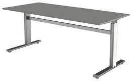 kerkmann Kabelkanal horizontal für Sitz-/Stehtische, weiß
