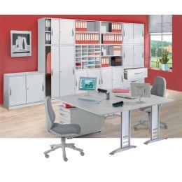 kerkmann Schreibtisch tec-art, (B)1.200 x (T)800 mm, buche