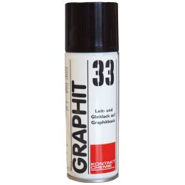 KONTAKT CHEMIE GRAPHIT 33 Grafit-Leitlack, 200 ml