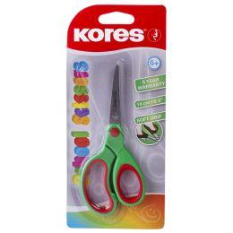 Kores Bastelschere mit Softgrip-Griff, Länge: 140 mm