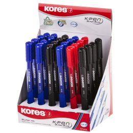 Kores Druckkugelschreiber K-PEN K6, 24er Display