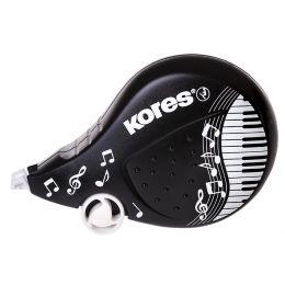 Kores Einweg-Korrekturroller BLACK & WHITE