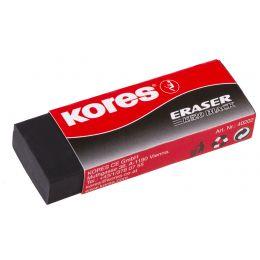 Kores Kunststoff-Radierer KE20, schwarz