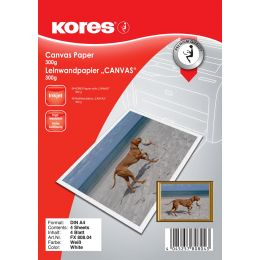 Kores Leinwandpapier CANVAS, DIN A4, 300 g/qm