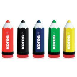 Kores Spitzdose KOLORITO, Stiftform, farbig sortiert