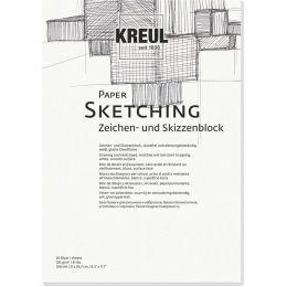 KREUL Künstlerblock Paper Sketching, DIN A4, 20 Blatt