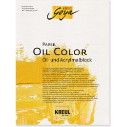 KREUL Künstlerblock SOLO Goya Paper Oil Color, 240 x 320 mm