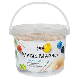 KREUL Marmorierfarbe Magic Marble, Set Happy Easter