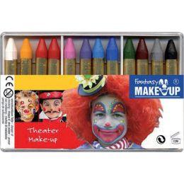 KREUL Schminkstifte-Set Fantasy Theater Make Up,12 Farben