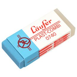 Läufer Kunststoff-Radierer PLAST COMBI