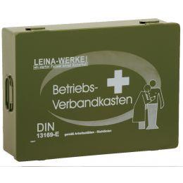 LEINA Betriebsverbandkasten, Inhalt DIN 13169, grün