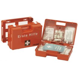 LEINA Erste-Hilfe-Koffer MAXI, Inhalt DIN 13169, orange