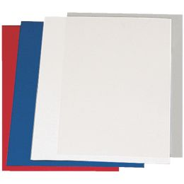 LEITZ Deckblatt, Leinenkarton, DIN A4, schwarz