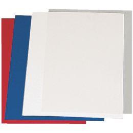 LEITZ Deckblatt, Leinenkarton, DIN A4, weiß