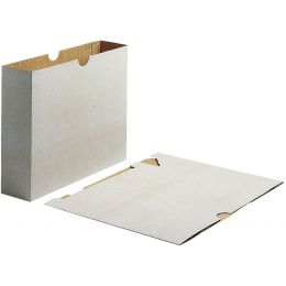 LEITZ Futterale für Archiv-Ordner 1190/1196, Karton, grau