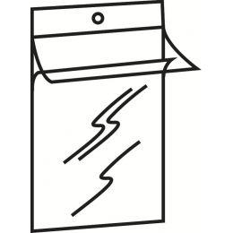 LEITZ Hänge-Sichttasche, DIN A4, PVC, genarbt, 0,20 mm