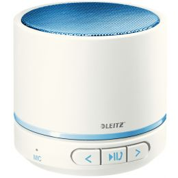 LEITZ Mini Bluetooth Lautsprecher WOW Duo Colour, blau