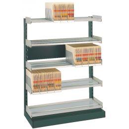 LEITZ OrgaClass Einzel-Anbautheke für Stehsammler, grau