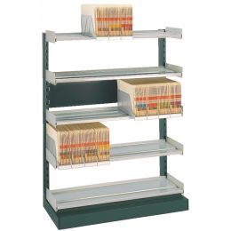 LEITZ OrgaClass Einzel-Grundtheke für Stehsammler, grau