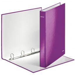LEITZ Ringbuch WOW, DIN A4, Hartpappe, violett
