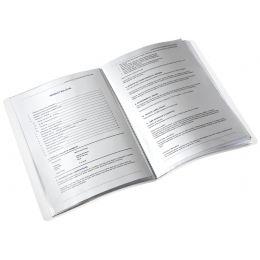 LEITZ Sichtbuch WOW, A4, PP, mit 40 Hüllen, orange-metallic