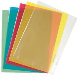 LEITZ Sichthülle Standard, A4, PP, genarbt, gelb, 0,13 mm