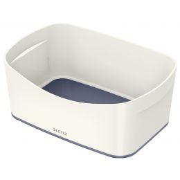 LEITZ Utensilienschale My Box, DIN A5, weiß/grau
