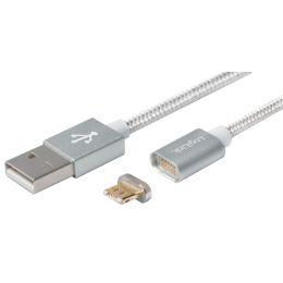 LogiLink Daten- & Ladekabel mit magnetischem Micro USB