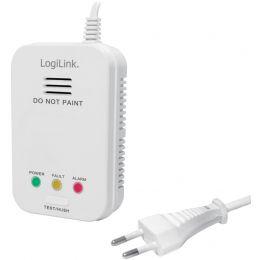 LogiLink Gasmelder, weiß, Alarmsignal: ca. 85 dB