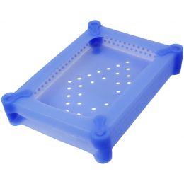 LogiLink HDD-Schutzhülle für 3,5 Festplatten, blau