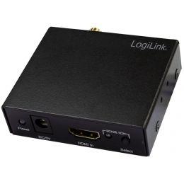 LogiLink HDMI Audio/Video Konverter, schwarz
